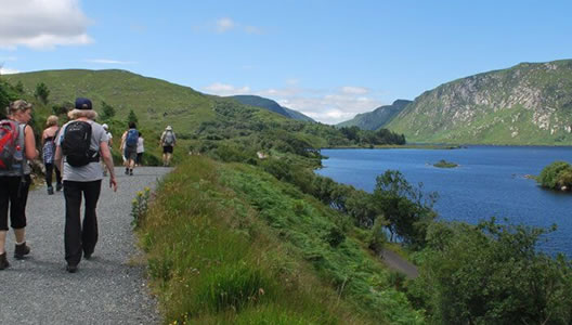 6 Day Guided Walking Tour Wicklow Mountains Deluxe