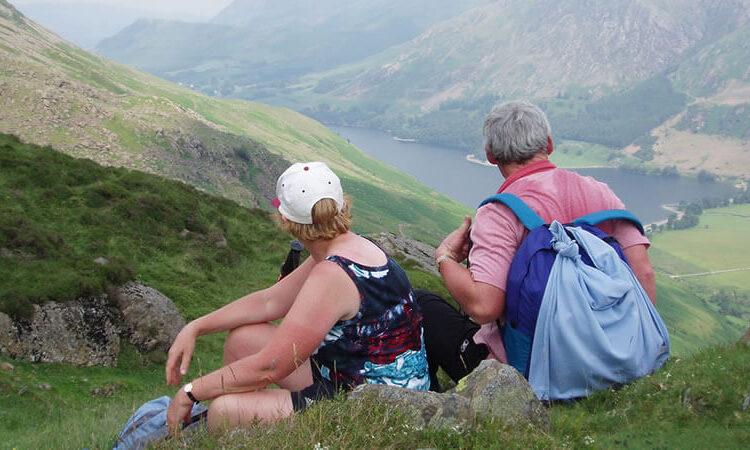Walking Hiking The Lake District
